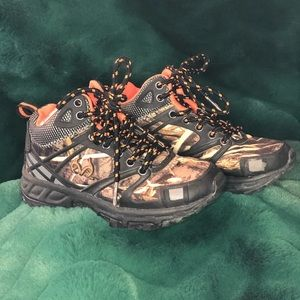 Camouflage Hiking Boots Size 12(little boys)
